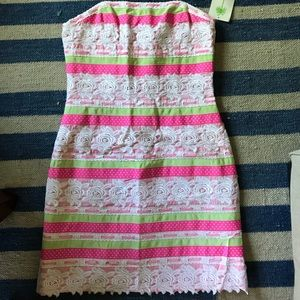 Lacy Lilly Pulitzer dress size 8